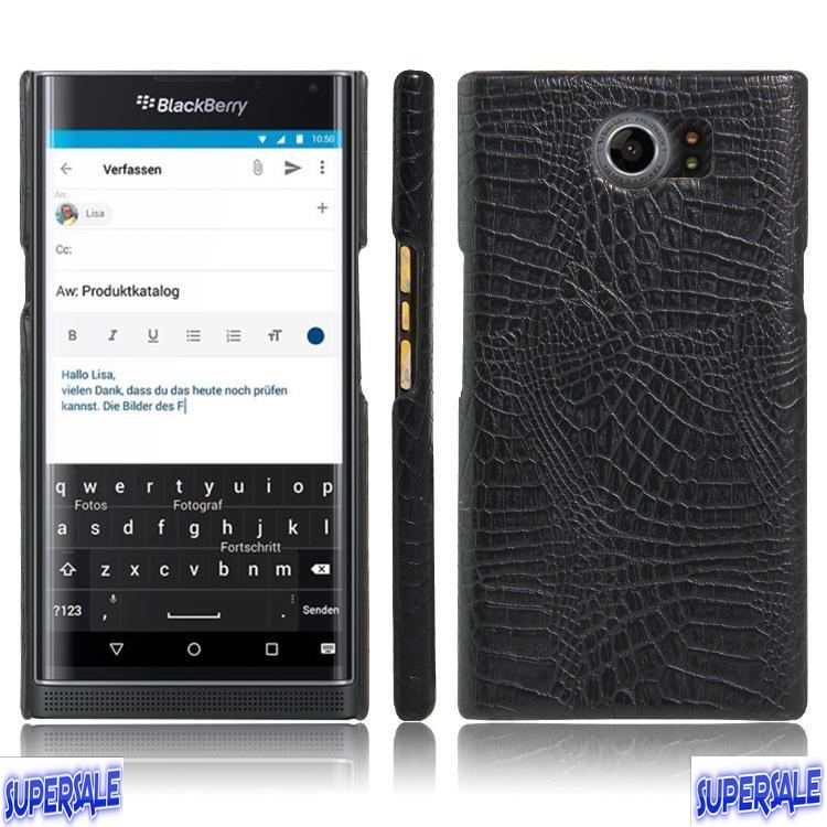 Crocodile Pattern Casing Case Cover for Blackberry Priv