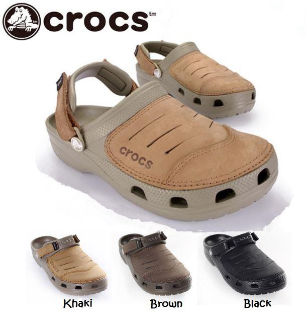 022298d95465 CROCS Mens Yukon Clog Half leather (end 6 17 2019 10 43 AM)