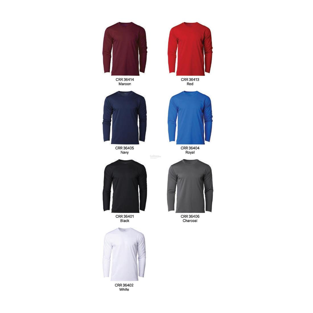Crossrunner Unisex Performance Long Sleeves Tee CRR36400