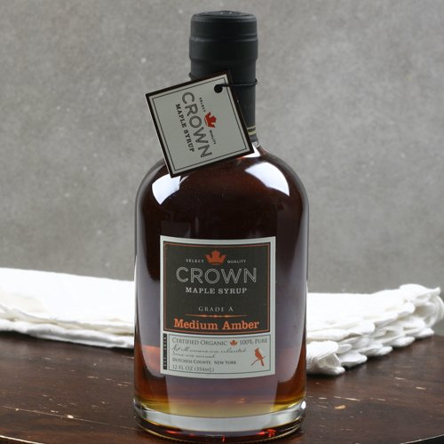 Crown Maple Amber Color Rich Taste Organic Maple Syrup (12 ounce)