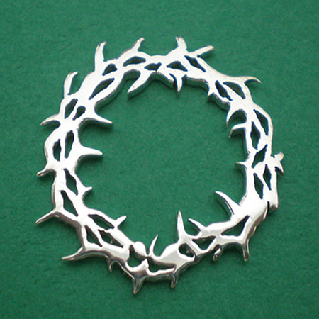 Crown of thorns jesus pendant charm end 8152018 1140 am crown of thorns jesus pendant charm k7312 aloadofball Image collections