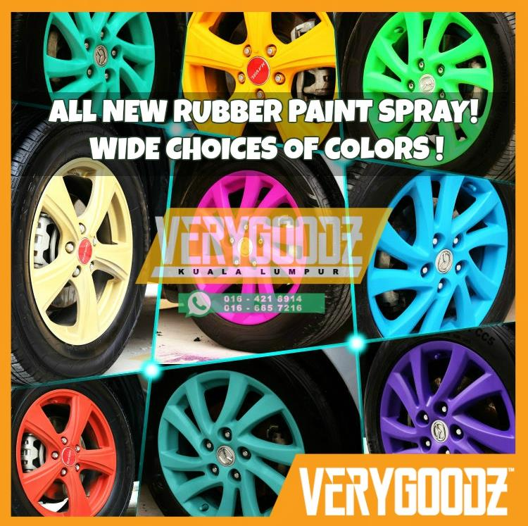 Rubber Spray Paint Malaysia