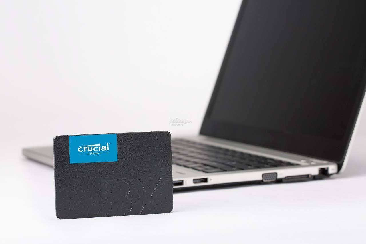 # CRUCIAL BX500 3D NAND SATA 2 5-inch SSD # 120GB/240GB/480GB/960GB