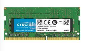 CRUCIAL RAM NOTEBOOK DDR4 8GB 2666 CT8G4SFS8266