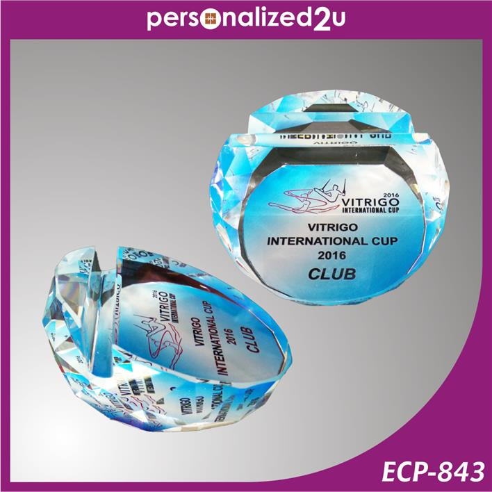 Crystal Name Card Holder ECP-843