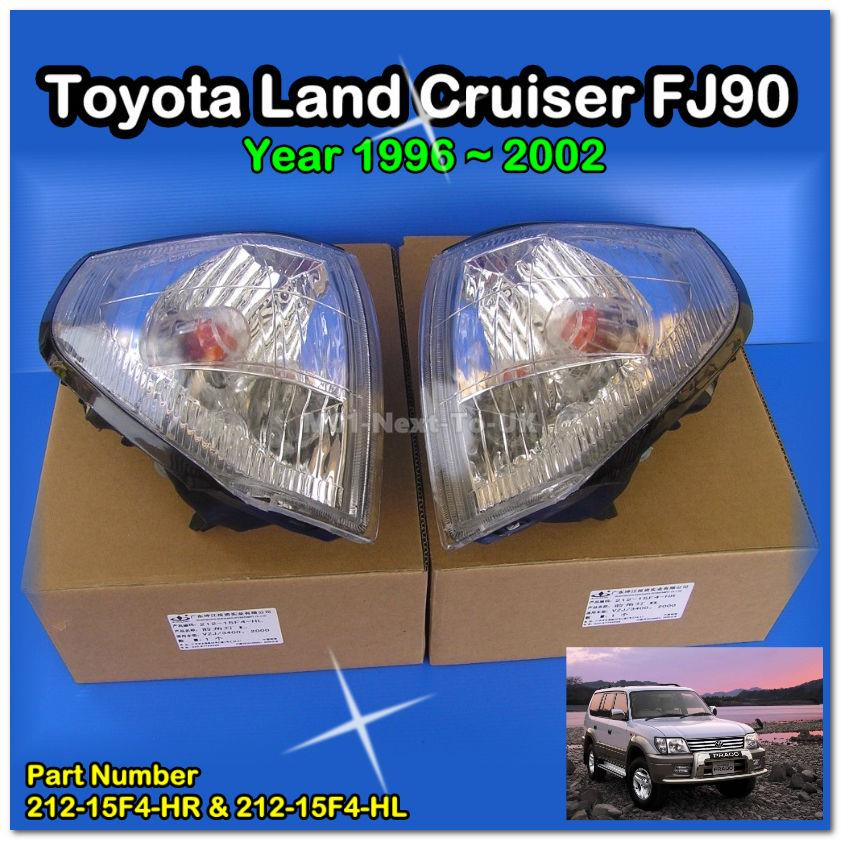 Crystal Clear Front Corner Side Signal LightsToyota Land Cruiser