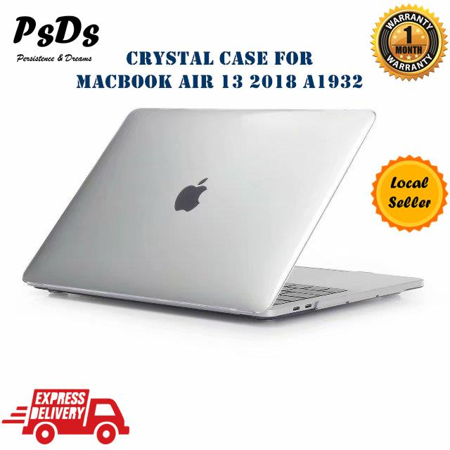 the latest a9df1 8f949 Crystal Clear Hard Protective Case Cover New Macbook Air 13 2018 A1932