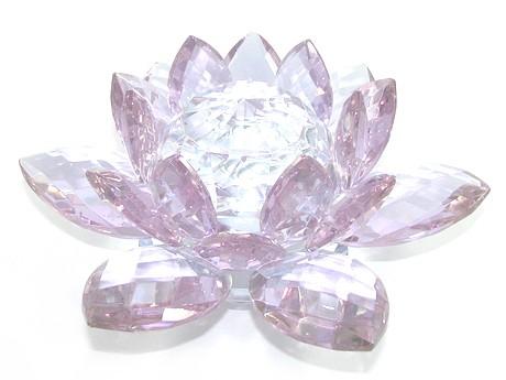Crystal feng shui lotus flower lig end 11282018 418 pm crystal feng shui lotus flower light purple online feng shui mall mightylinksfo