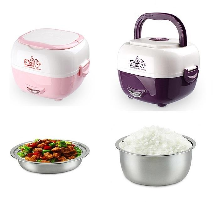 CS-302 Electric Heating Lunch Box Mini Rice Cooker Egg Boiler. ‹ ›