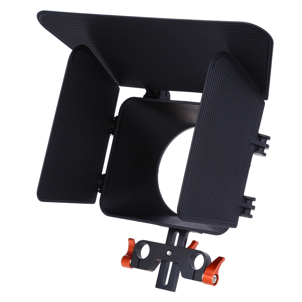 CS - M1 OR STANDARD 15MM RAIL ROD MATTE BOX RIG FOR DSLR CAMERA DV