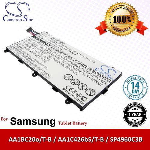 CS Tablet Battery SGP620SL Samsung Galaxy Tab 7.0 Plus GT-P6210 P6210