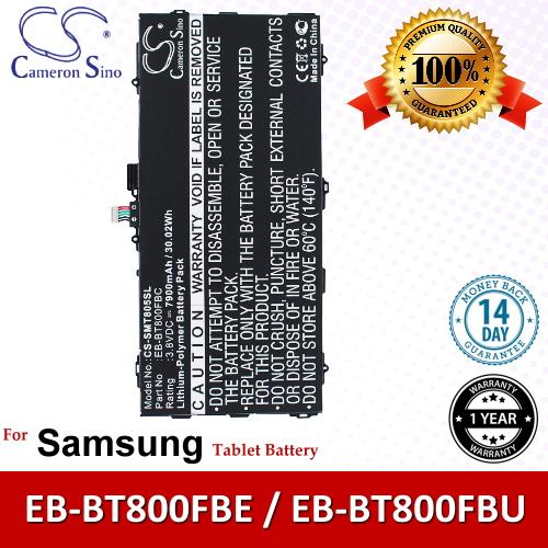 CS Tablet Battery SMT805SL Samsung Galaxy Tab S 10.5 SM-T800NTSEXAR