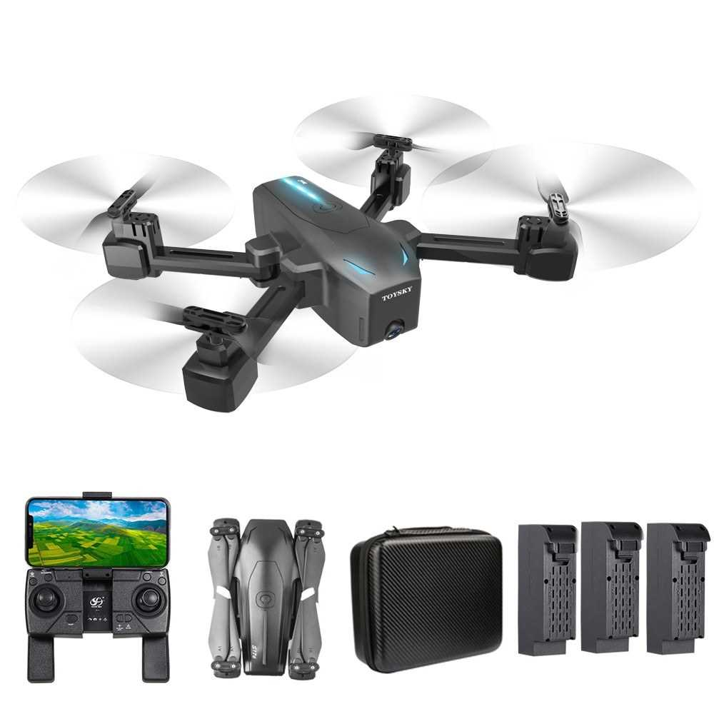 CSJ S176 GPS-PRO RC Drone with Camera 4K Drone Dual Camera WIFI FPV GPS One Ke