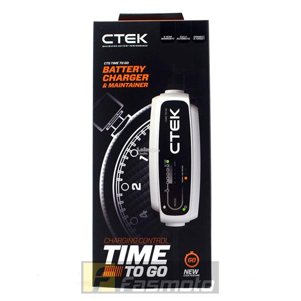 CTEK 40-162 CT5 TIME TO GO 12V Battery Charger 5.0A max (UK Plug 220 –