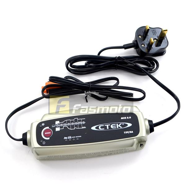 CTEK 56-975 MXS 5.0 12V Battery Charger 5A max (UK Plug 220 – 240V) MX