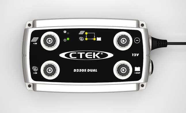 CTEK D250S DUAL BATTERY CHARGER DC T (end 8/22/2019 3:08 PM)