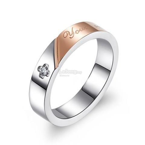 Cubic Zirconia Band Ring