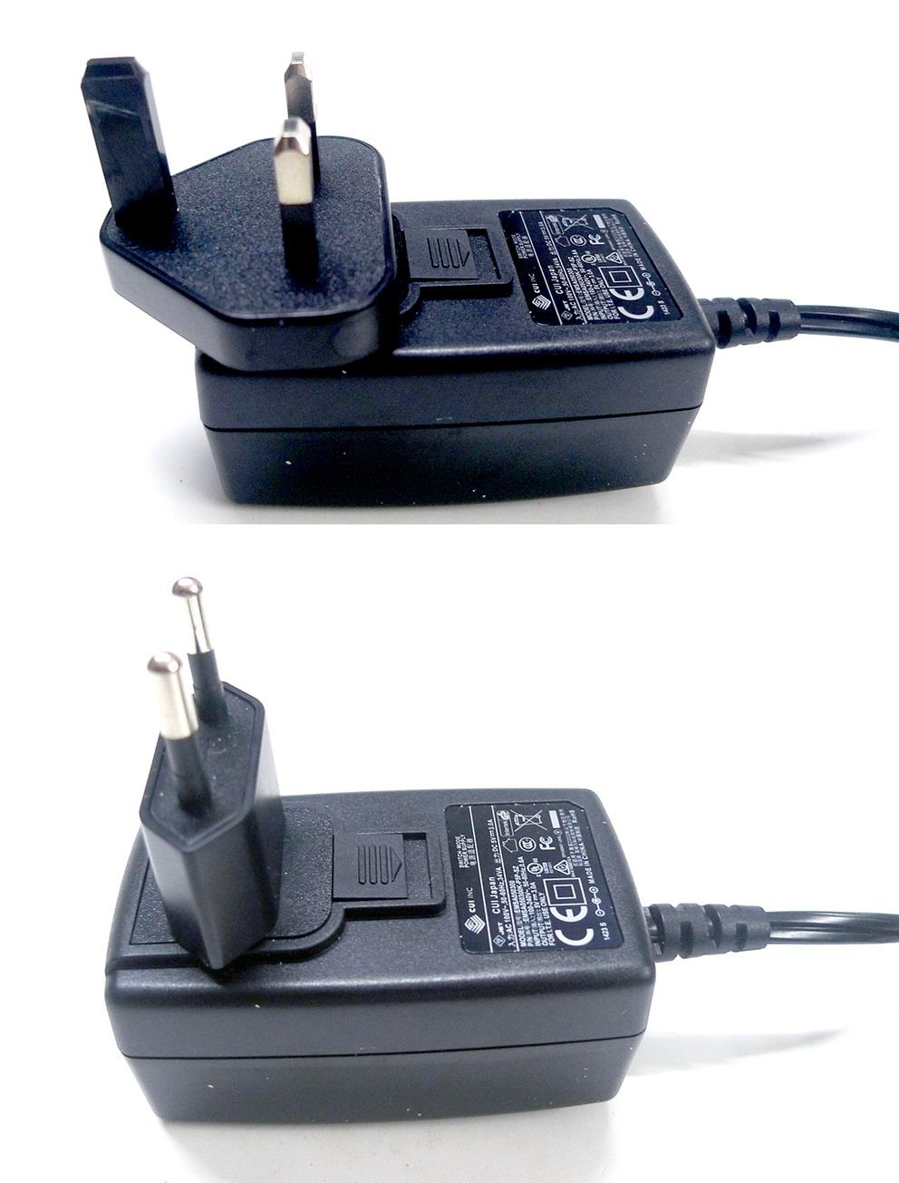 CUI 3pin Wall AC Power Adapter Charger DC 5V 3A