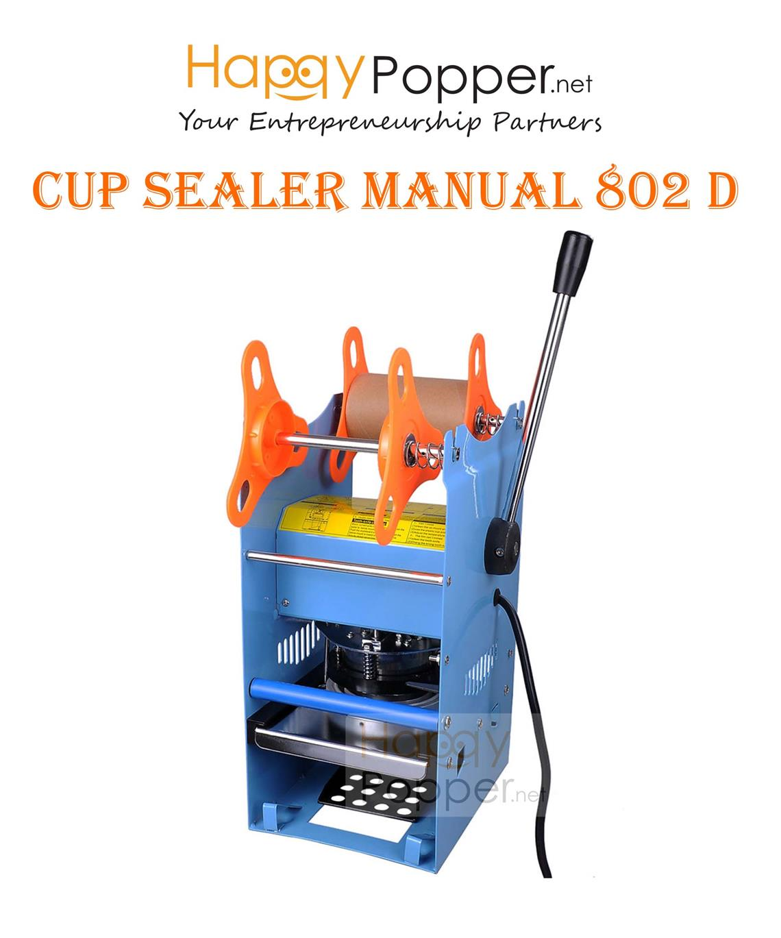 Cup sealer sealing machine manual