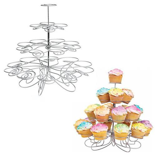 Cupcake Metal Stand Holder Holds 23 Muffins Cup Cake