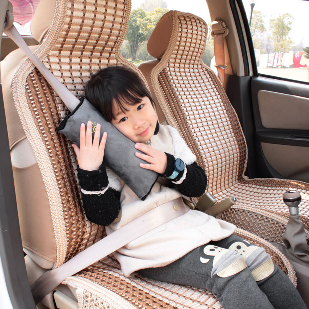 Cushion Vehicle Car Seat Belt Baby Kid Shoulder Pad Cover Pillow Head