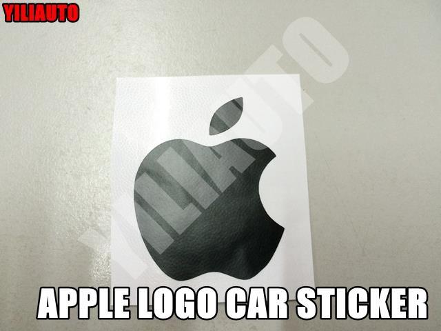 Custom Made Apple Logo Car Sticker End   PM - Stickers for cars custom made