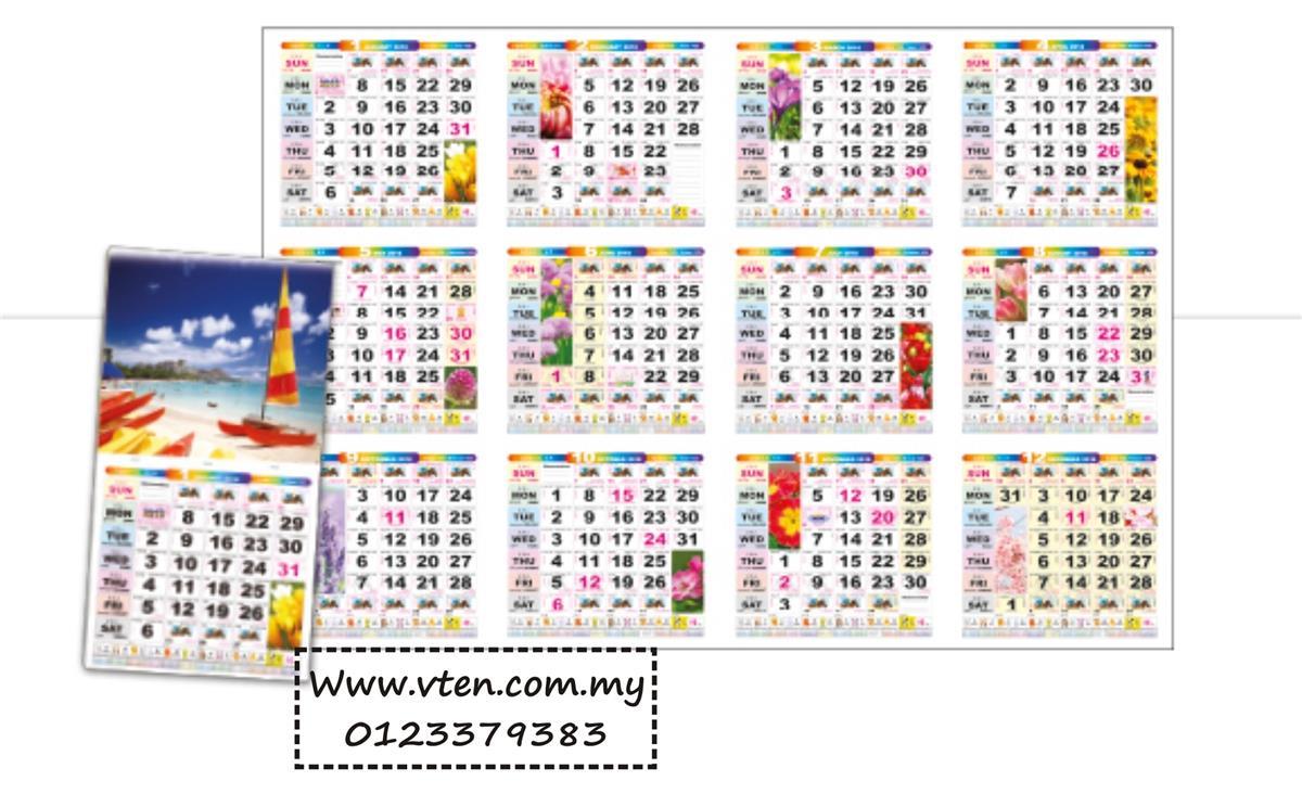 Desk Calendar 2020.Custom Made Calendar Malaysia Desk Calendar Full Printing With Logo