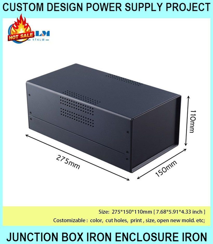 Custom Design Power Supply Project Junction Box  - [BDA40005(W275)-A2]