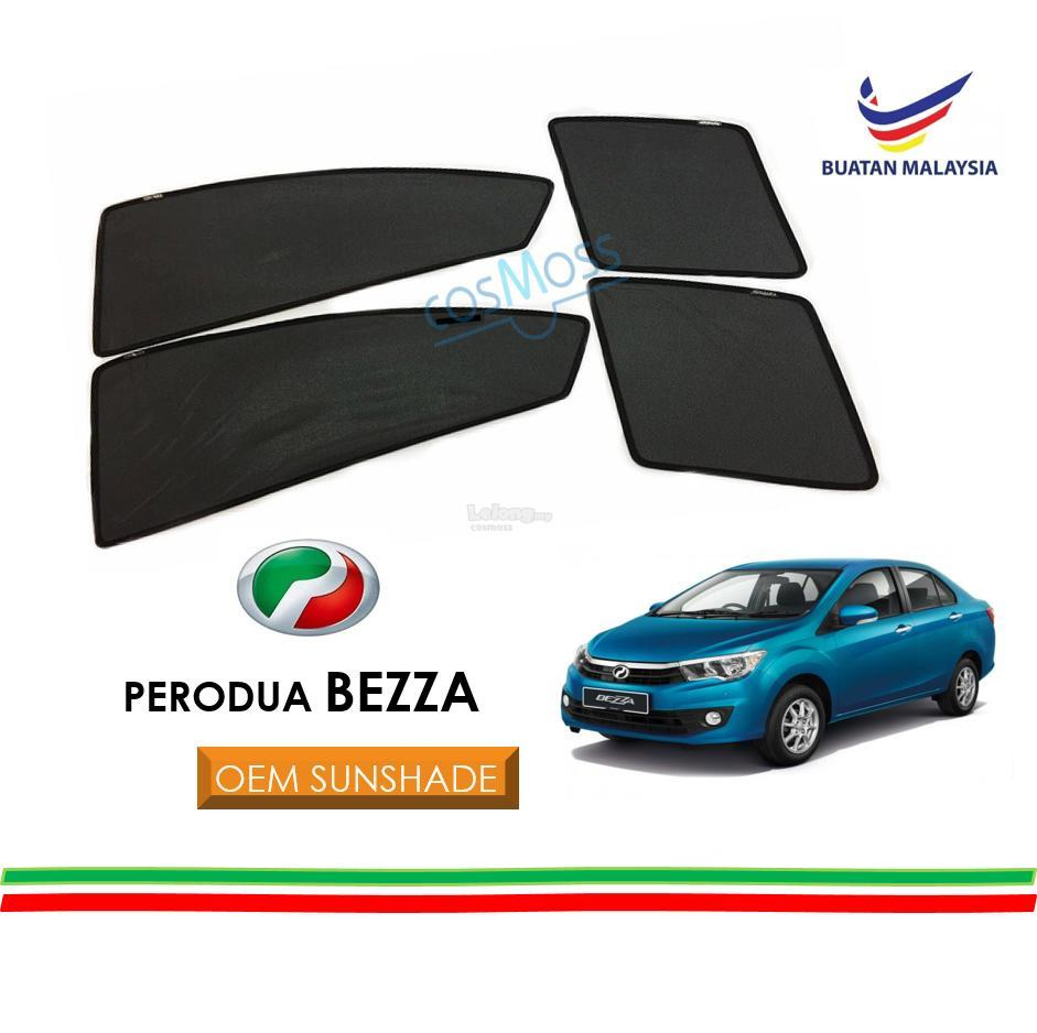 Custom Fit OEM Sunshades/ Sun shades for Perodua Bezza (4PCS)