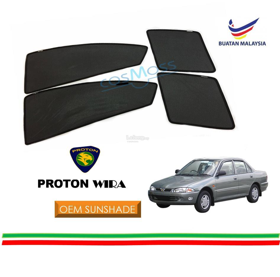 Custom Fit OEM Sunshades/ Sun shades for Proton Wira (4PCS)