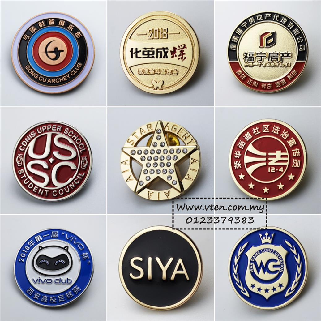 Značke Custom-metal-badges-logo-customized-shaped-school-badges-tinacharming-1901-22-tinacharming@2