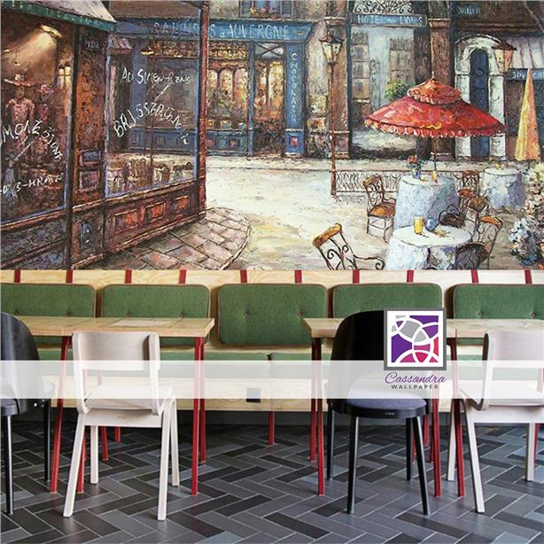 free office wallpaper. Custom Made Mural Office Wallpaper Cafe Free Delivery