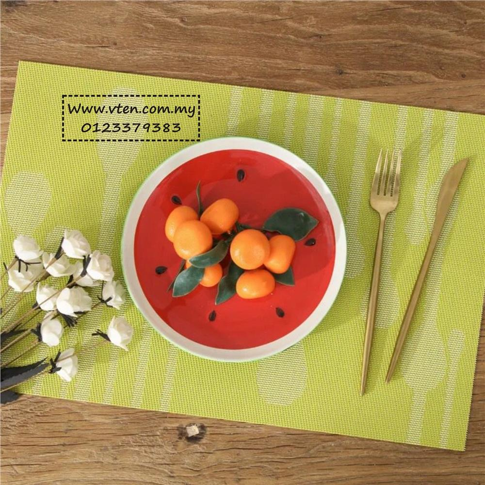 Lelong.my & Custom made PVC Placemat Table Mat for Dining Table Restaurant \u0026 Home