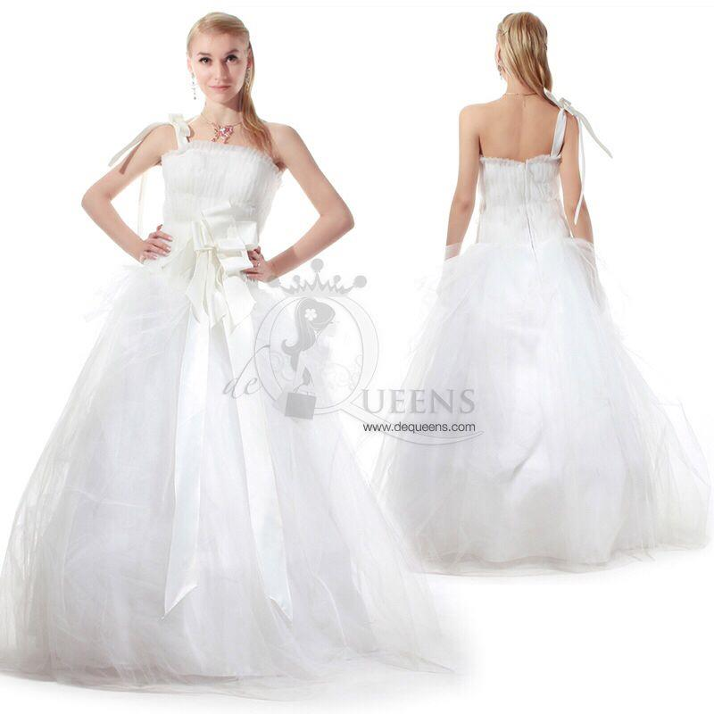 Custome-made Wedding Gown - CWGL00016