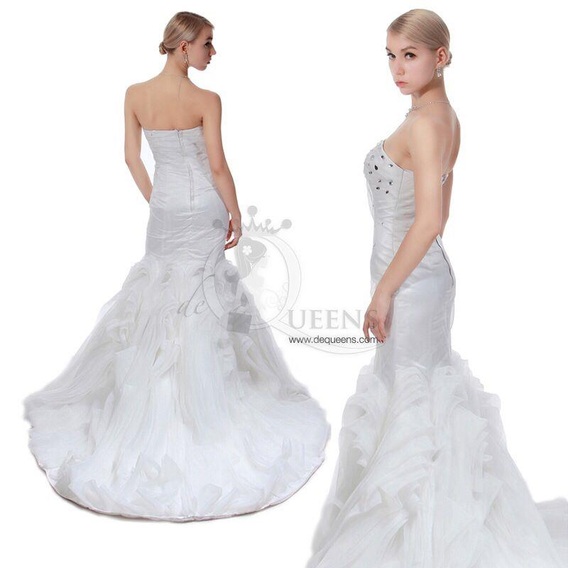 Custome-made Wedding Gown - CWGL00026