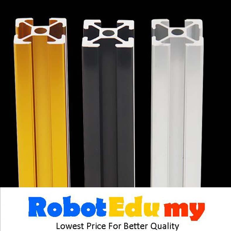 Customize Aluminium Profile EU20 2020 Gold Black Aluminium