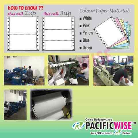CUSTOMIZED PRINTING Computer Form 9.5' x 11' 3ply 3color@20bxs!