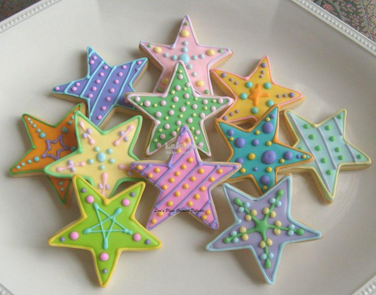 Cute Aluminium Christmas Star Cookies Cutter Mould Mold