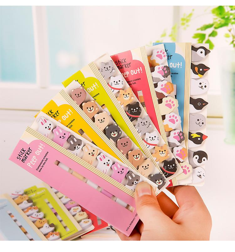 cute animal post it notes end 10 8 2019 6 15 pm