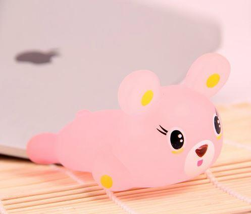 Cute Cartoon Anti-fatigue Wrist Pad (Pink Bear)