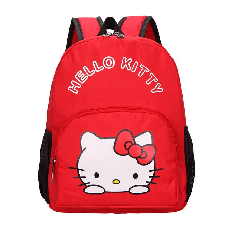 Cute Cartoon Kids' Backpack (KT Red)