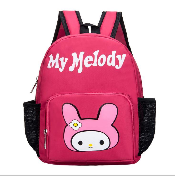 Cute Cartoon Kids' Backpack (Melody Rose Red)