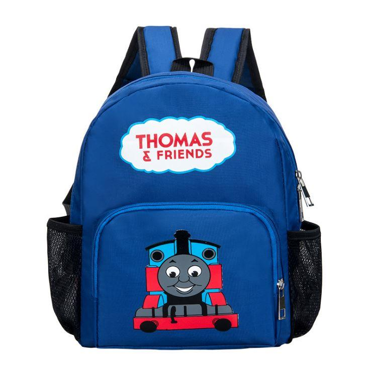 Cute Cartoon Kids' Backpack (Thomas Blue)