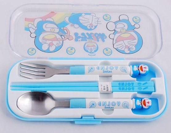 Cute Doreamon Tableware 3 pcs