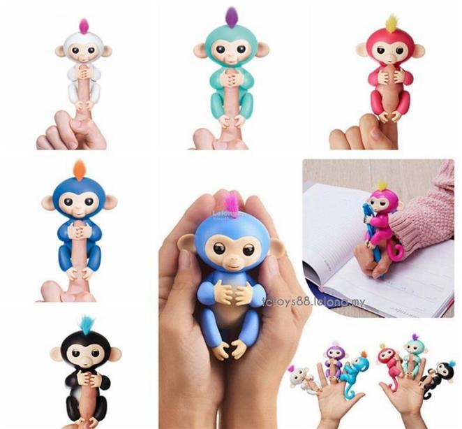 Cute Fingerlings Baby Monkey Electr (end 12/6/2018 11:43 AM)
