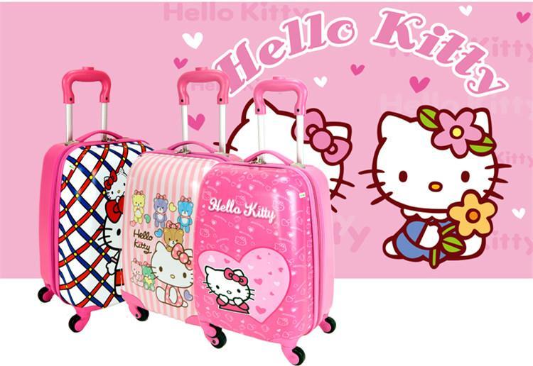 806fcb12dc Cute Hello Kitty Kid Luggage ABS Tra (end 4 28 2019 4 33 PM)