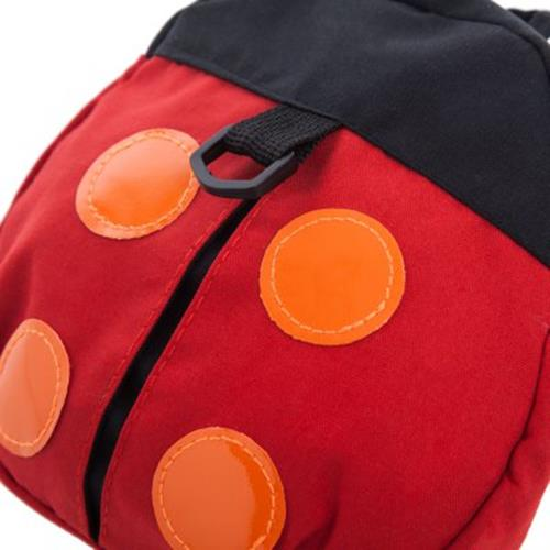 CUTE LADYBIRD DESIGN BABIES KEEPER TODDLER SAFETY HARNESS BACKPACK BAG