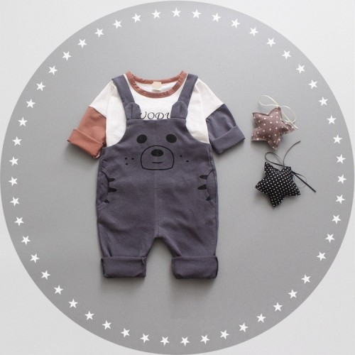 dc946def9e0 Cute Long Sleeve Shirt with Jumpsuit (end 9 10 2019 3 38 PM)