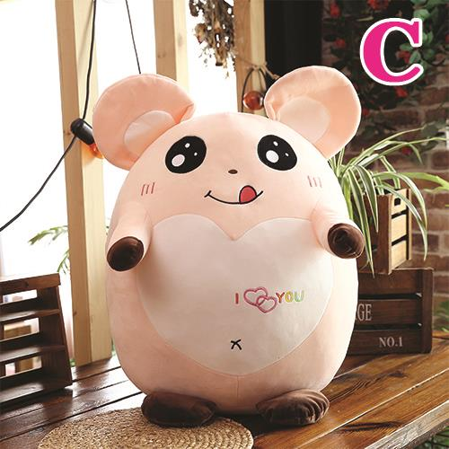 Cute Soft Stuffed Toys Expression Hamster Dolls Pillow Plush Mouse