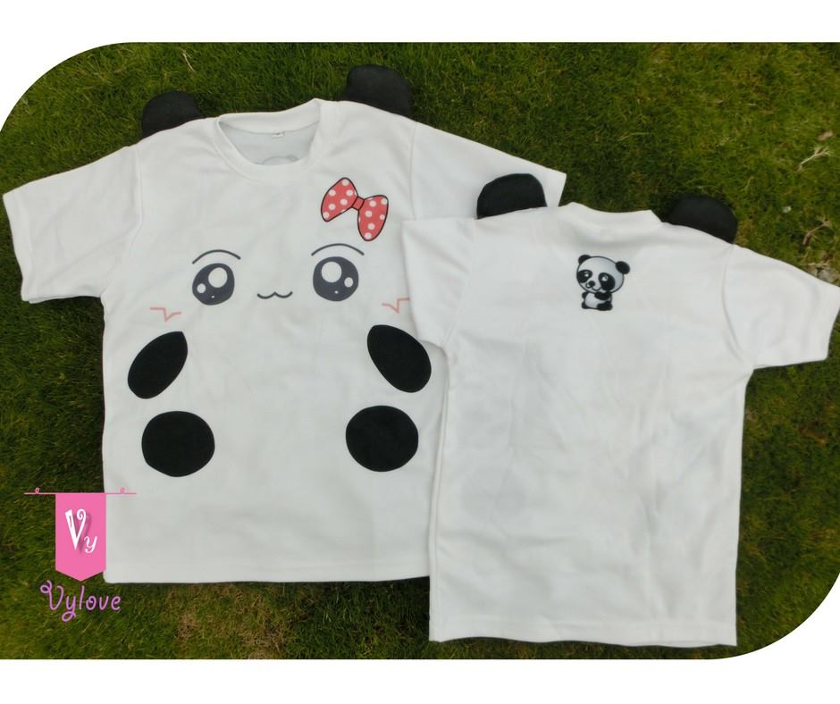 e6e50a0335c2 Cute T-Shirts Panda 3D Ears F007 (end 5 14 2021 12 00 AM)